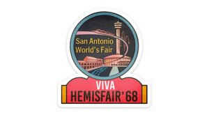 Hemisfair Retro Sticker