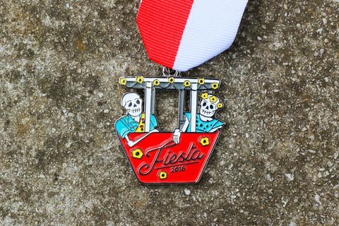 Gondola Fiesta Medal 2018 by the Hudson Family
