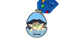 Kid in the Cascarón Fiesta Medal 2020 by SA Flavor