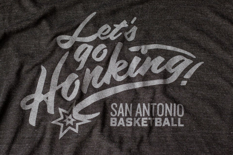 Let's Go Honking Spurs NBA Inspired Shirt