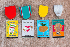 Lotería Inspired SA Flavor Fiesta Medal Four-Pack