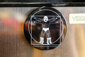 Luchador Magnet by BarbacoApparel