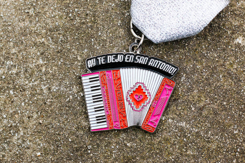 Express News WINNER: Accordion Fiesta Medal 2018 by the Texas Provencios