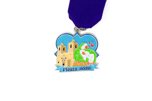 Mission Concepción Parrots Fiesta Medal 2020 by Denise Ojeda