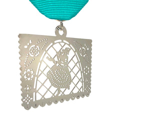 Dancer Papel Picado Fiesta Medal 2019 by the Texas Provencios