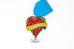 RAICES Fiesta Medal 2019 Cruz Ortiz Design and Produced by SA Flavor
