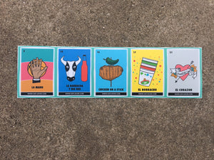 Lotería Card Laptop Stickers