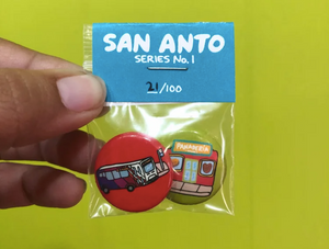 San Anto Buttons #1 by Isabel Ann Castro