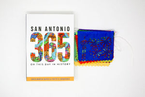 San Antonio 365: On This Day In History with Mini Papel Picado!