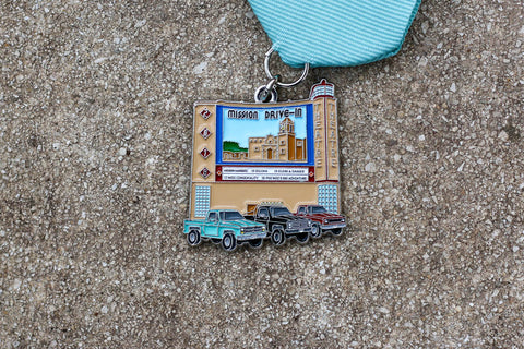Express News WINNER: Mission Drive-In Fiesta Medal 2018 by Selina Bonilla