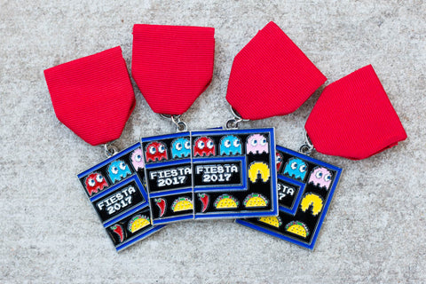 Taco Pacman 2017 Fiesta Medal by Tony Infante
