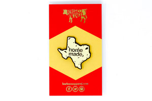 Texas Homemade Tortilla Pin by BarbacoApparel