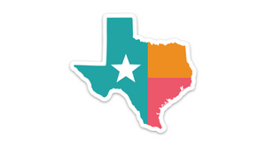 Texas Spurs Sticker Fiesta Colors San Antonio Sticker SA Flavor