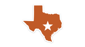 University Texas Sticker Austin Burnt Orange Texas Sticker