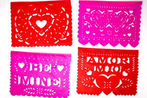 valentines day papel picados paper