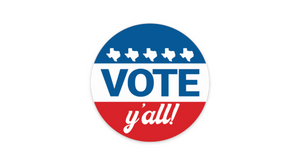 Vote Y'all Sticker