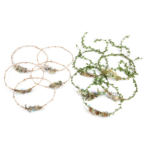 Festive Hairbands (Pack of 10)