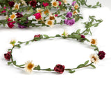 Headbands with roses and vintage daisies (Pack of 10)