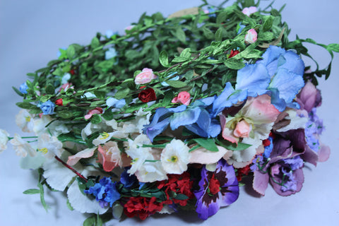 Wholesale Pack of 100 Mixed Vintage and Rose Headbands.