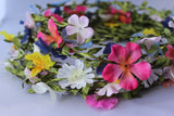 Pack of 72 Assorted Texile Flower Headbands