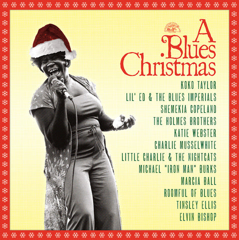Various Artists - A Blues Christmas - from Alligator Records - Koko Taylor, Musselwhite...
