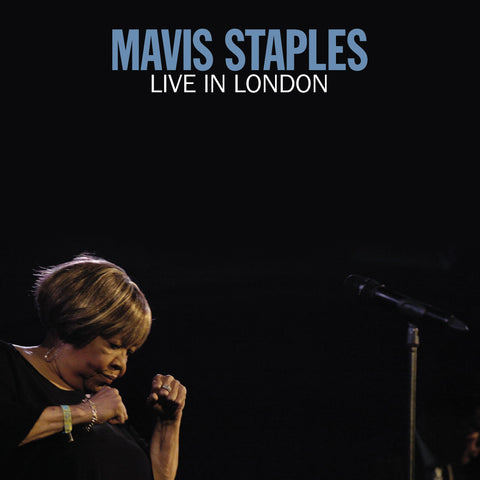 Mavis Staples - Live in London - 3 sided 2 LP set