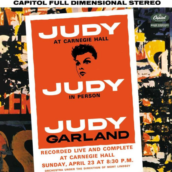 Judy Garland - Judy at Carnagie Hall 2 LP set 180g