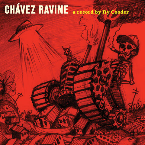 Ry Cooder - Chavez Ravine - 2 LP His 2005 concept album 1st time on vinyl