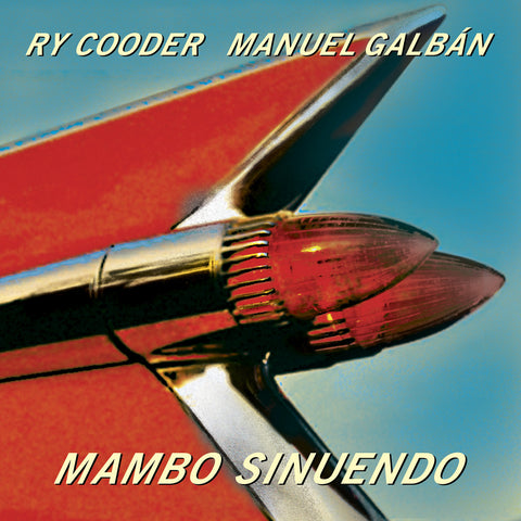 Ry Cooder / Manuel Galban - Mambo Sinuendo - 2 LP (3 sided)