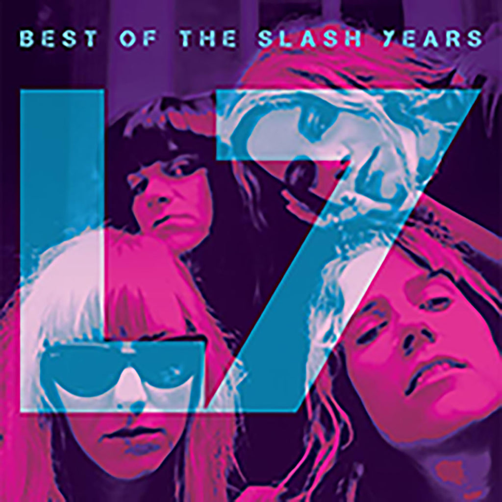 L7 - Best of the Slash Years - LP LTD numbered ROG colored
