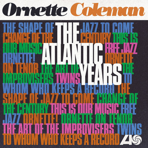 Ornette Coleman - The Atlantic Years - 10 LP Box Set complete Atlantic Recordings