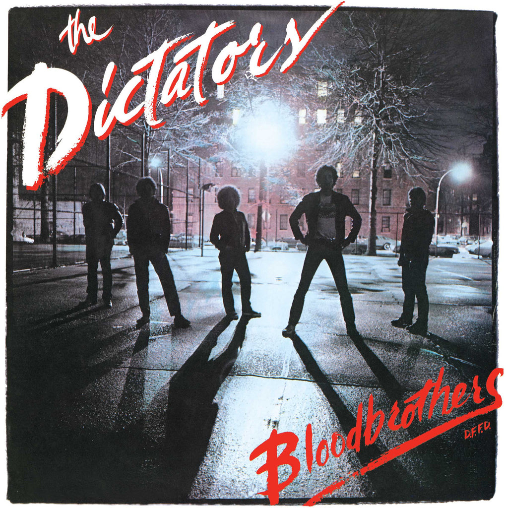 The Dictators - Bloodbrothers on limited red vinyl