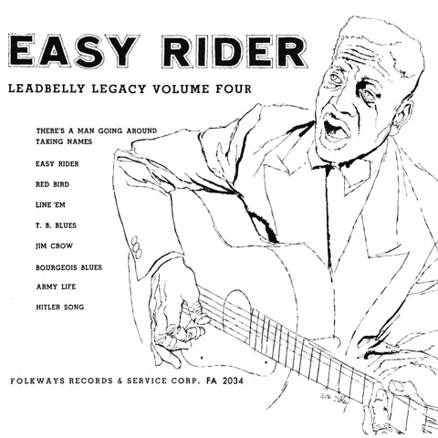 Leadbelly - Easy Rider - Limited Edition Smithsonian Folkways