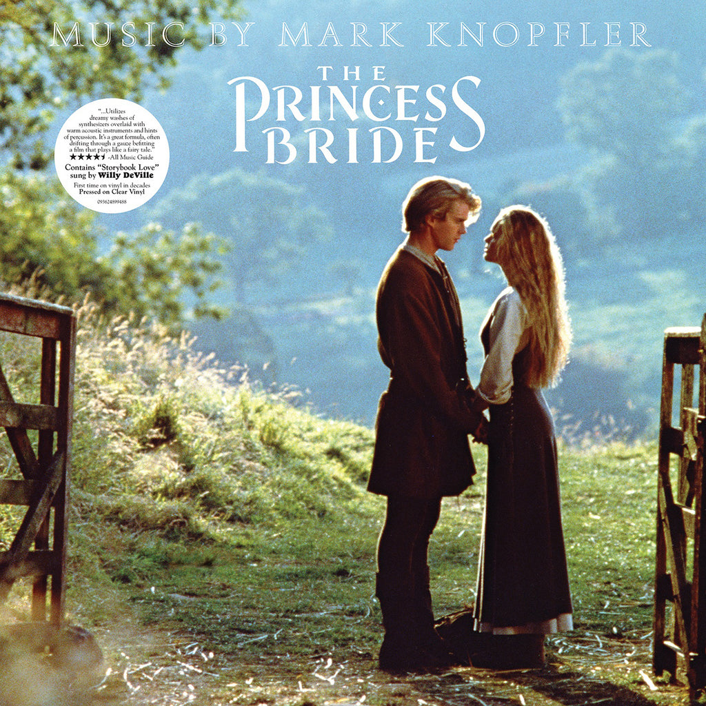 Mark Knopfler - The Princess Bride Soundtrack on limited CLEAR vinyl