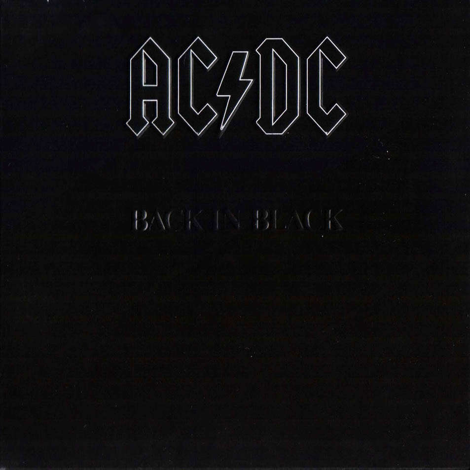 AC / DC - Back in Black LP 180g - Hell's Bells, You Shook Me All Night - CLASSIC