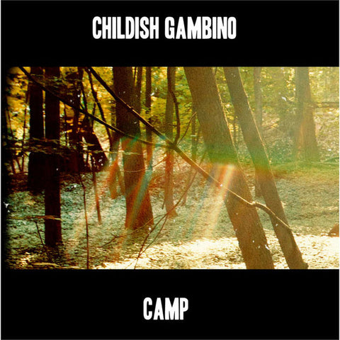 Childish Gambino - Camp - 3 sided 2 LP set w/ gatefold