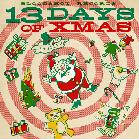 Various - 13 Days of Xmas - 180g w/ download on RED vinyl