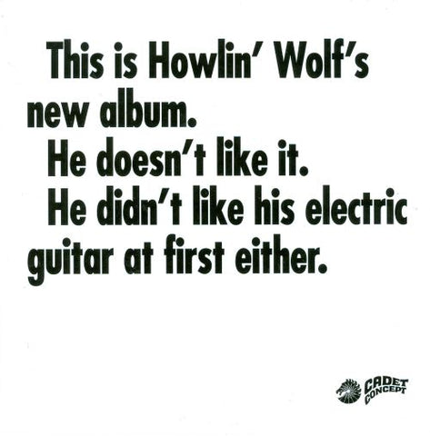 Howlin' Wolf - This is Howlin' Wolf's New Album...