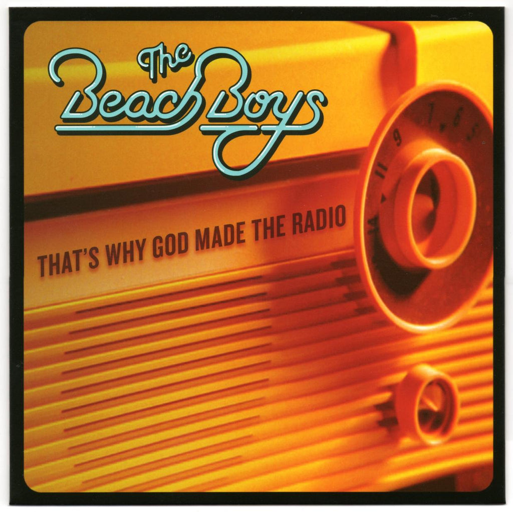 Beach Boys - That's Why God Made the Radio / same (instrumental) w/ PS