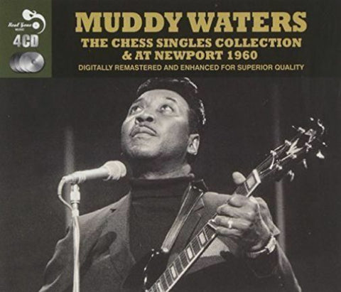 Muddy Waters - The Chess Singles Collection & at Newport 1960 4 CD set