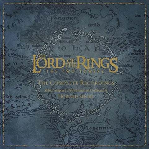Lord of the Rings - The Two Towers - 5 LP limited deluxe box set on colored vinyl
