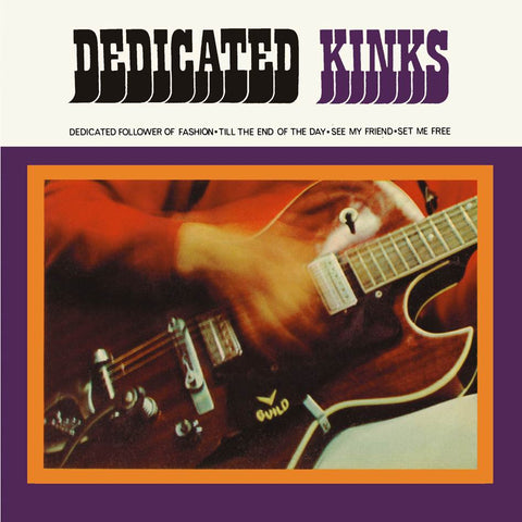 "Kinks - Dedicated Kinks 4 track 7"" EP"