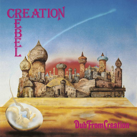 Creation Rebel - Dub from Creation 2018 RSD title on Clear Vinyl w/ download