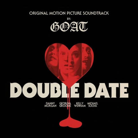 "GOAT - Double Date Soundtrack - limited 2018 RSD title - import 10"" on Blood Red Vinyl"