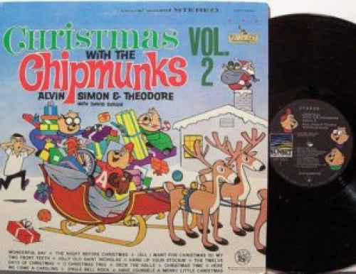 Chipmunks - Christmas with the Chipmunks Vol 2 (Mono)