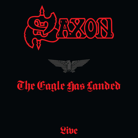 Saxon - The Eagle Has Landed - Live 180g LP Limited Splatter vinyl