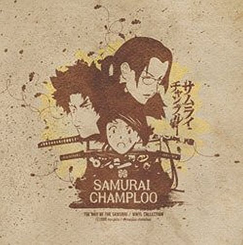 Various - Samurai Champloo - Limited Edition 3 LP import colored Vinyl