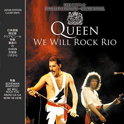 "Queen - We will Rock Rio - Live In Concert on limited ""luminous"" Vinyl"