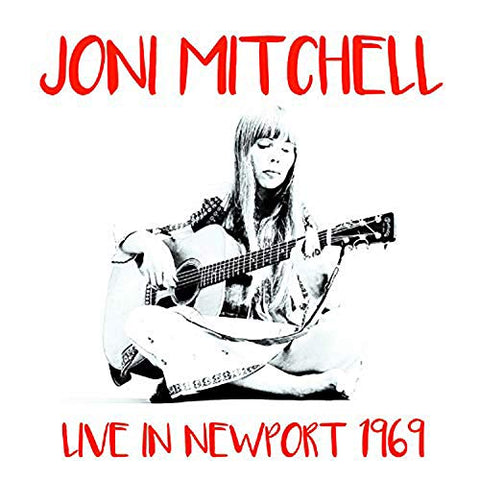Joni Mitchell - Live at Newport 1969 - import LP