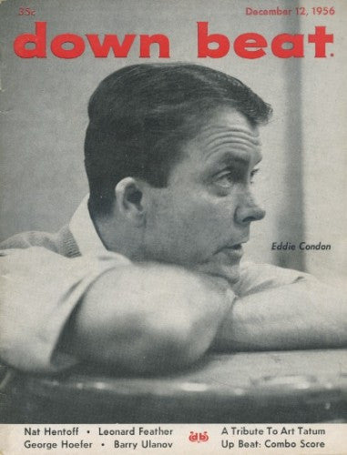 Down Beat - December 12, 1956 - Eddie Condon
